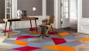 """Z cyklu: """"TEPPICHOWY RAPORT: nowe trendy 2015 roku na temat dywanów i tapicerek – kolory, formy, materiały i innowacje."""""""