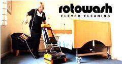 """Z cyklu: """"Maszyny do czyszczenia dywanów i tapicerek – Rotowash"""""""